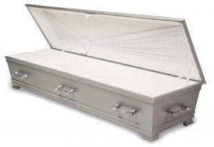 kiste begravelse kantate gråskimmer innside