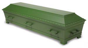 kiste begravelse Kantate hardangergrønn