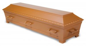 kiste begravelse Kantate kobberglød
