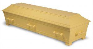 kiste begravelse kantate slottsgul