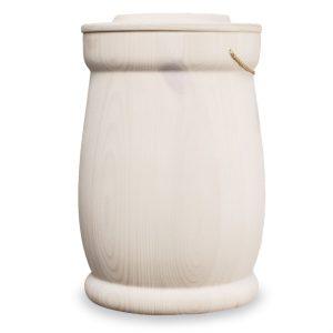 urne hvit voks