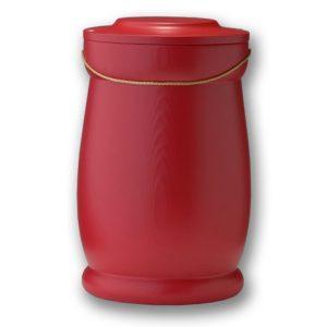 urne kardinalrød
