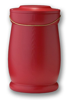 Kardinalrød urne