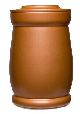 Kobberglød urne